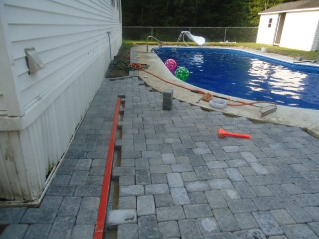 Patio Drainage And Pavers View Full Size Slideshow